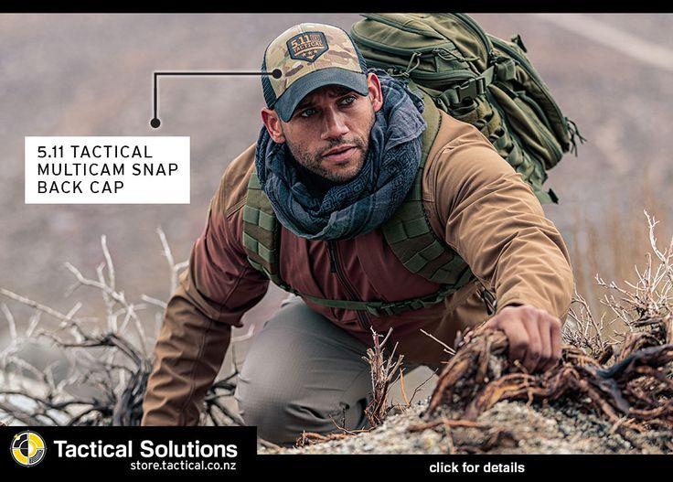5.11 Tactical Multicam Snap Back cap