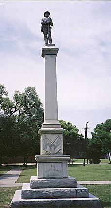 Confederate Monument, Weiss Park, Beaumont, Texas