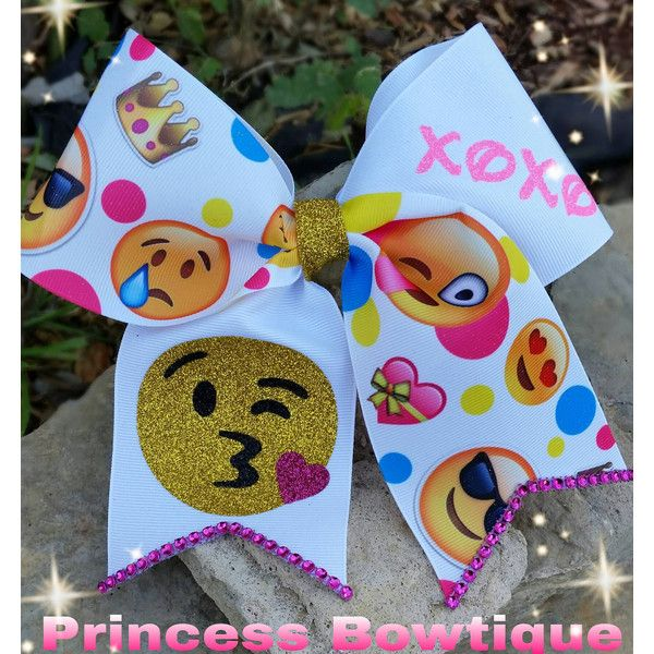 Emoji Bows Emoji Valentines Bows Emoji Bow Velentines Bow Bows Emoji... ($11) ❤ liked on Polyvore featuring accessories, hair accessories, barrettes & clips, grey, barrette hair clip, hair clip accessories, bow hair accessories, alligator hair clips and bow hair clips