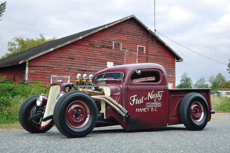 Flat Nasty 38 Ford - Hand Lettered/Pinstriped by Kelly's Kustom Pinstriping | Flickr - Photo Sharing!
