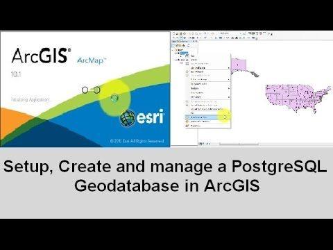 Setup and manage a PostgreSQL Enterprise Geodatabase in ArcGIS