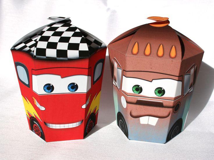 Cars large gift box set shnookers pixar cars birthday