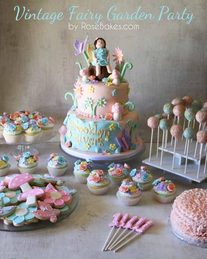 Vintage Fairy Garden Party