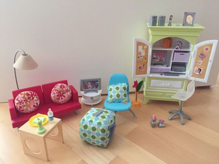 Die besten 25 barbie m bel ideen auf pinterest diy puppenhaus barbie zeug und barbie m bel - Barbie wohnzimmer ...