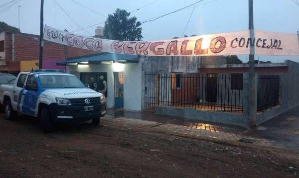 Detención de Luis Bergallo, candidato a concejal del PJ