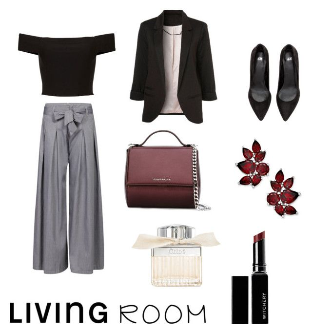 """""""Untitled #25"""" by evachrisomalli-1 on Polyvore featuring Givenchy, Chloé and Witchery"""