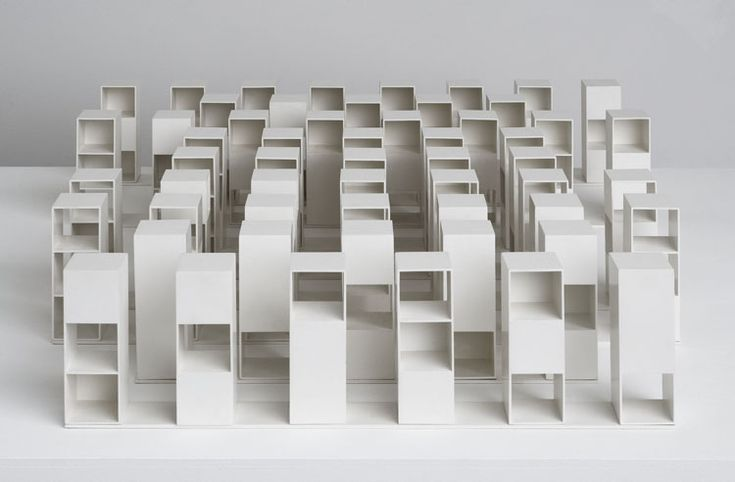 Sol lewitt 39 s 39 variations on three types of cubes 39 they for Minimal art sol lewitt