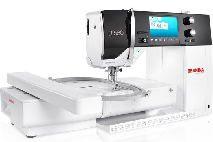 BERNINA 580 – die Allrounderin zum Nähen, Sticken und Quilten