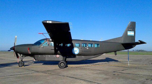 La Aviación del Ejército Argentino recibe dos nuevas Cessna 208 Grand Caravan EX-noticia defensa.com