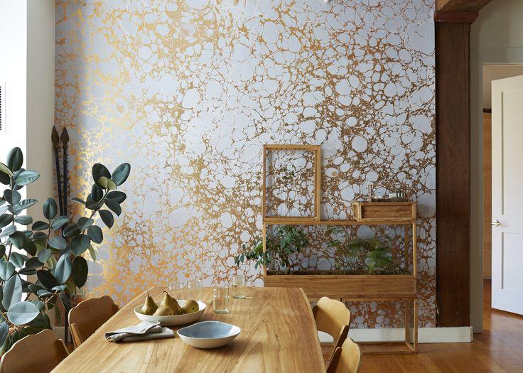 Calico Wallpaper, 'Wabi' photography by Stephen Kent Johnson, styling by Megan Hedge #plantincity