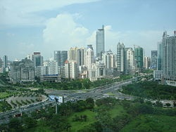 "Nanning, China is the capital of the Guangxi Zhuang Autonomous Region in Southern China.  Known as the ""Green City"" because of the abundance of lush tropical foliage."