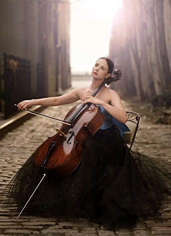 cellist. Senior photoshoot:)