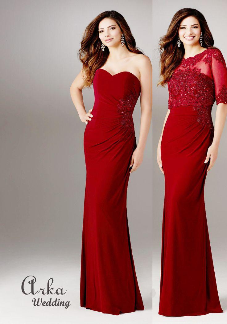 Κωδικός: 71510  Τιμή: 550,00 € Κεντημένο Jersey Φόρεμα με δύο Εμφανίσεις , Δαντέλα Μπολερό, με Φερμουάρ  Σχεδιαστής: MORILEE, by Madeline Gardner Πληροφορ. και Ραντεβού Τηλεφ. 210 6610108  http://www.arkawedding.gr/ena-forema-dyo-emfaniseis-71510…