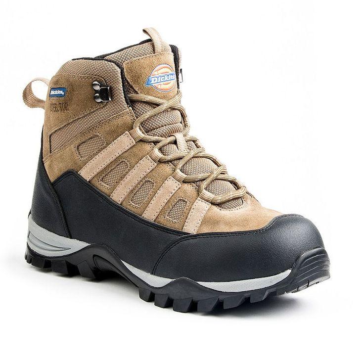 Dickies Escape EH Men's Steel-Toe Hiking Boots, Brown