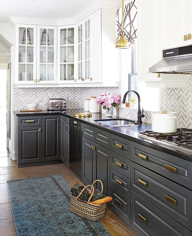 Kitchen Cabinets Colorado Springs: 17 Best Ideas About Black Kitchen Cabinets On Pinterest