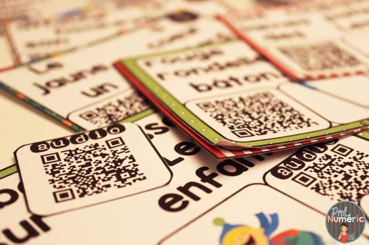 Cartes-Tâches avec CODES QR AUDIO- 3 Façons de jouer #taskcard #EdTech #FSL #QRcodes