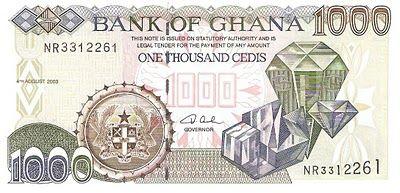 Blog de Fotos y Billetes del Mundo: Ghana 1/2