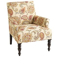 I'm obsessed with this chair but I think that if I get this, in 10 years it will be considered a grandmas chairs. I can see it now- it will be the chair of our 80's. I still love it.