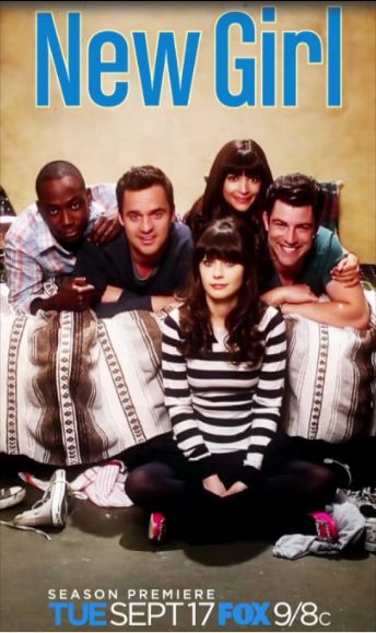 less than a month away...yay :) New Girl