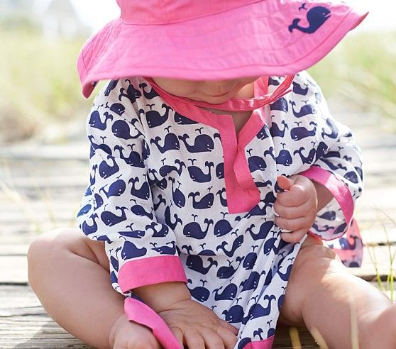 Nantucket Whale Nursery Tunic | Pottery Barn Kids....how stinkin cute for the lake this summer!