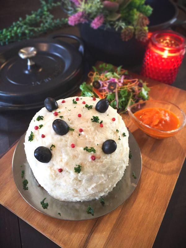 パーティやイベントに♪バーミキュラでミートローフケーキ by SHIMA ...