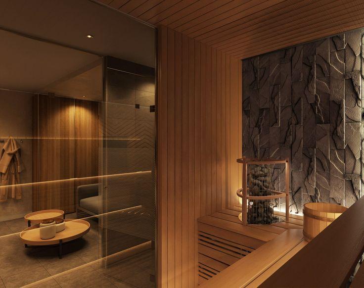 """Дом в КП """"Родные просторы"""" (463 м.кв) оформлен в классике, переплетенной с современным стилем. 1й этаж занимает кухня в классическом стиле, гостиная с камином, комната отдыха, ванная комната, все это объединено парадным коридором. Цокольный этаж в служит зоной отдыха, на нем расположился кинотеатр, сауна с комнатой отдыха, просторный коридор с теннисным столом. На 2ом этаже расположились 3 спальни и 2 санузла, соединенные с коридором. В мансардной части-рабочая зона и комната отдыха"""