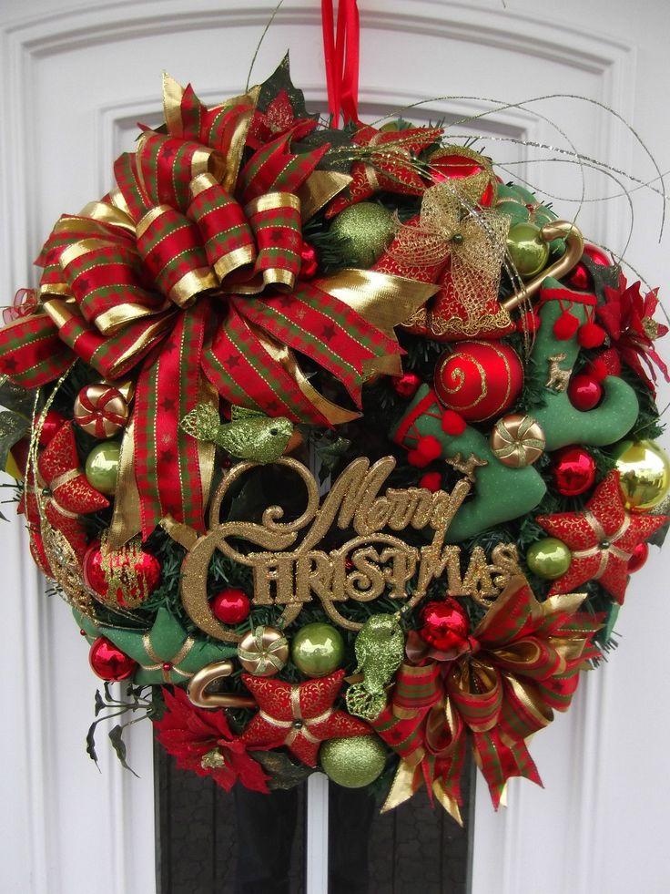 Türkranz Weihnachten 117 besten weihnachtskränze wreath bilder auf