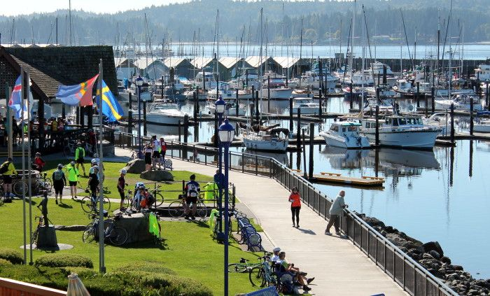 4. The beautiful town is located right along Liberty Bay. Poulsbo.