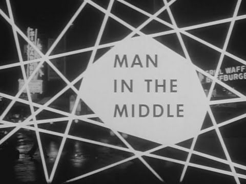 Boris Karloff's Thriller - Man In The Middle ~~ Season 1 Episode 14 1961 , Hosted by Boris Karloff , A man overhears a plot for kidnapping and murder. At first, he doesn't want to do anything about it, but eventually he gets caught in the middle of the plot.