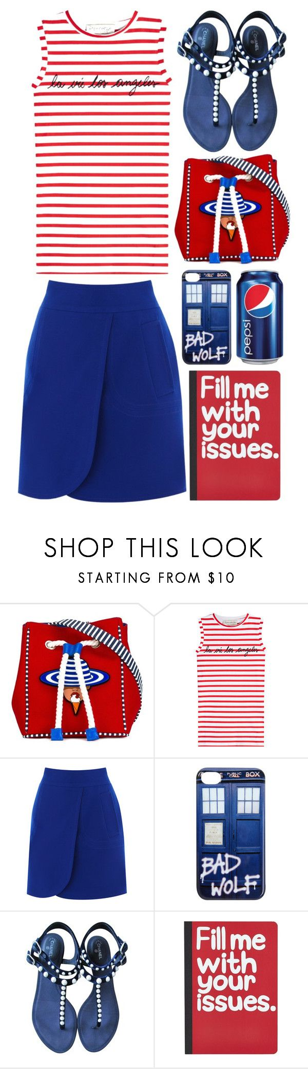 """Fill me with your issues"" by emcf3548 ❤ liked on Polyvore featuring Yazbukey, Être Cécile, Coast, Hot Topic, Chanel and Pier 1 Imports"