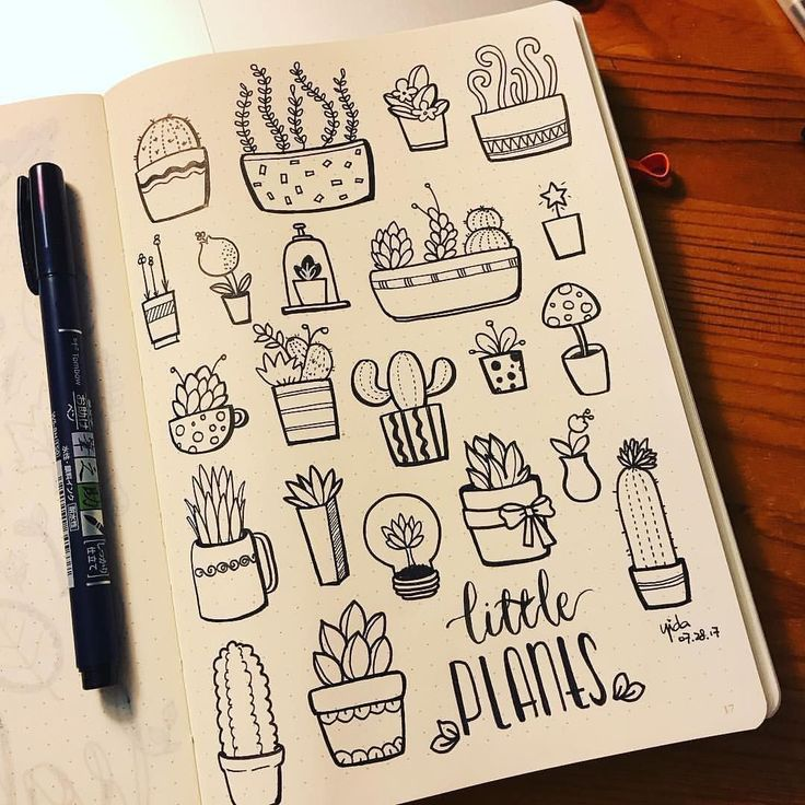 картинки идеи для скетчбука черной ручкой легко сортировать фотографии