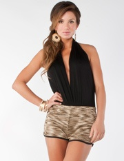 Plunge Neck Bodysuit @ FlirtCatalog.com  LOVE !!!