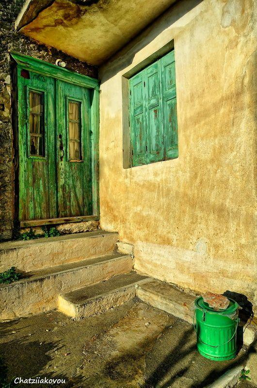 Green Door, Samos, Greece *