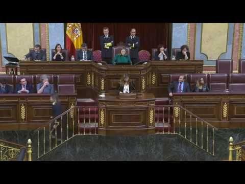 Votación nominal elección Mariano Rajoy presidente España