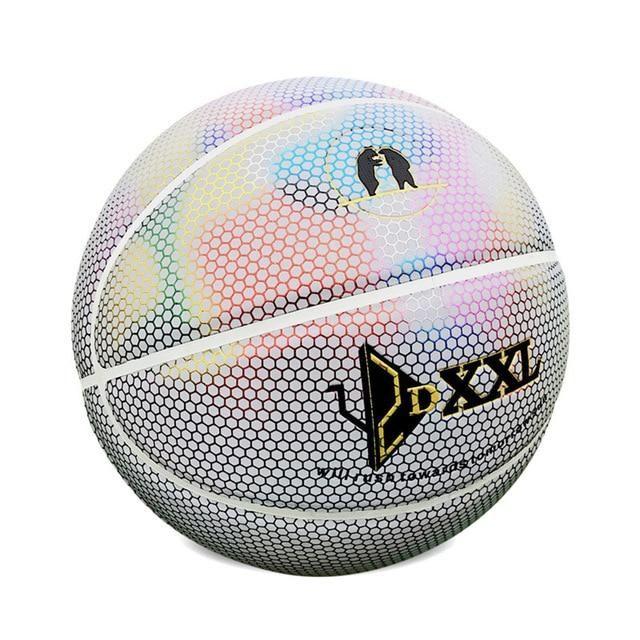 Luminous Basketball Ball Basketball Ball Rainbow Light Ball