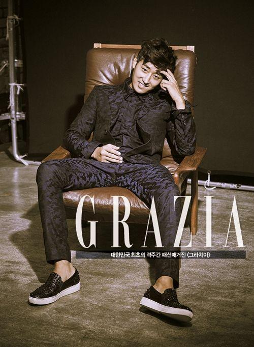 Son Ho Joon - Grazia Magazine January Issue '15