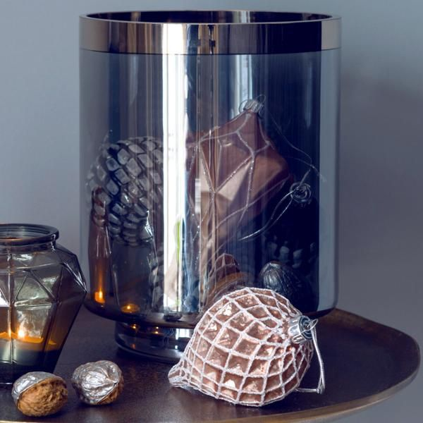 Affari Weihnachtskugeln Caspian 3er Set Glas rosa - CHF 15