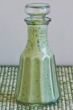 Greed Goddess Salad Dressing Recipe -   I remember this salad dressing from when I was a kid, but Kraft stopped making it except in small quantities. If you can find it, it's VERY expensive. I remember it was delicious. I found this recipe online - can't wait to try it out!