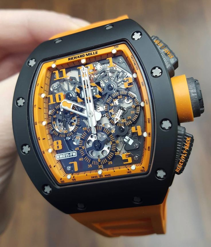Richard Mille RM 011 Orange Storm Limited Edition Photo taken by: @10enana on Instagram