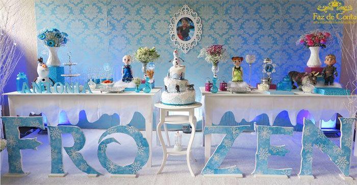 Image result for decoração frozen luxo
