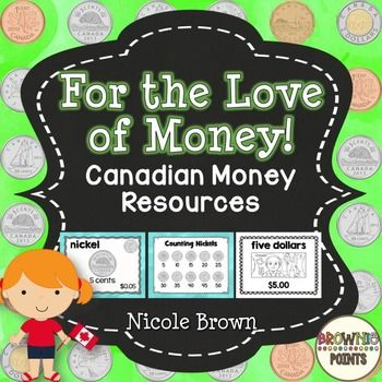 Check  out  this handy Canadian coins and bills reference pack! Post the posters on your bulletin boards as a handy reference tool for your students!This resource includes: Coins posters in colour and black and white Bills posters in colour and black and white Skip counting with coins  Desk reference cards in colour and black and white Coin Exchange poster Word Wall CardsDont forget to check out the preview!This is a part of a bundle: Canadian Money Resources - BundleIf you like this, you…