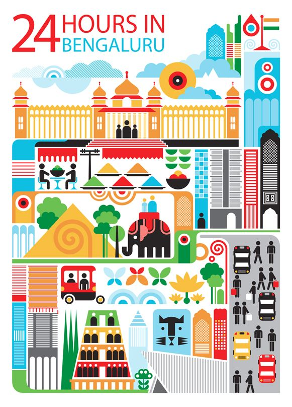 24 hours in Bengaluru, India - Patrick Hruby for Qatar Airlines inflight magazine
