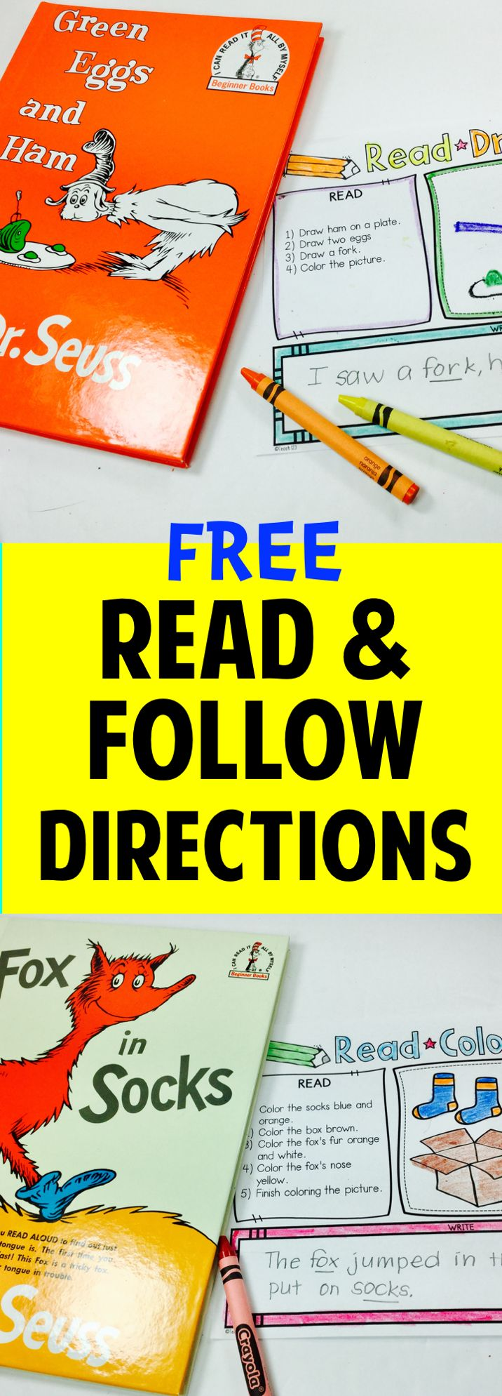 best ideas about following directions following themed follow directions quick prep printables perfect way to enrich