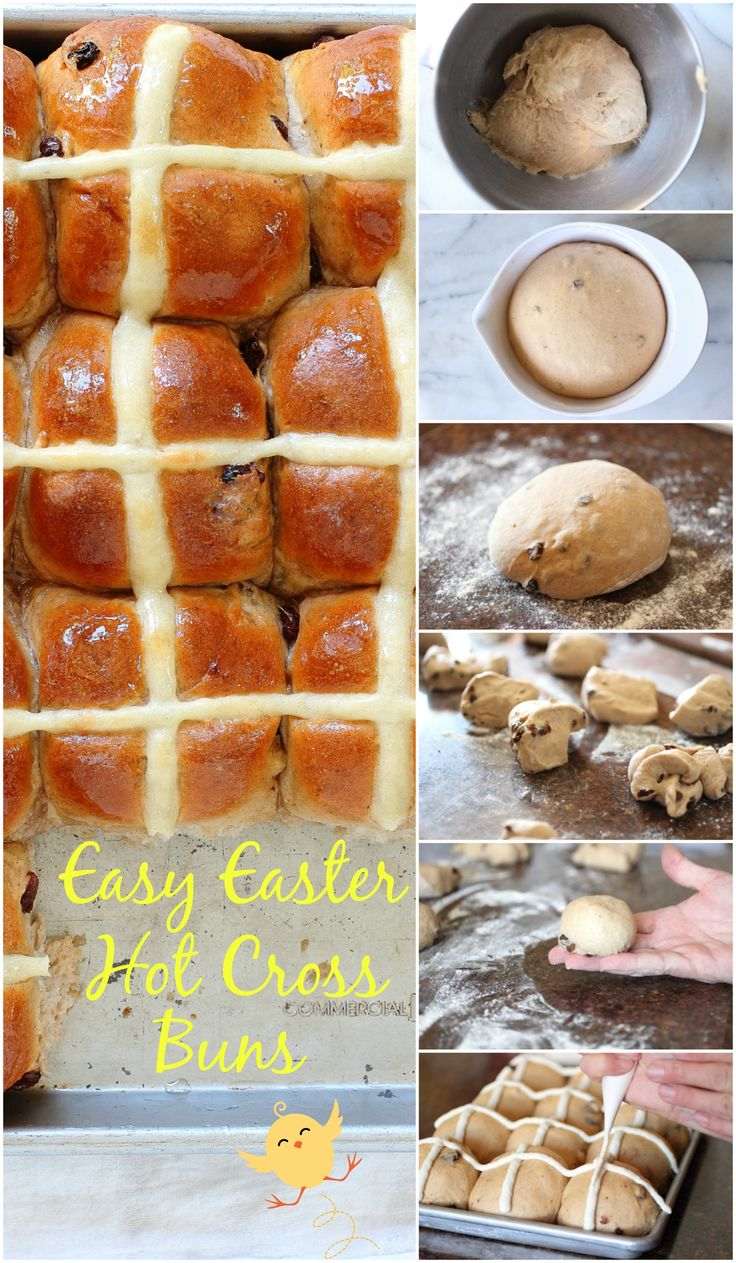 27 Best Bread Hot Cross Buns Images On Pinterest