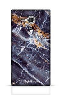 Caribbean Portoro Marble Sony Xperia SP Phone Case