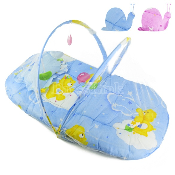 New Baby Cotton Cushion Mosquito Net Baby Tent Foldable Portable Safety Multi-Function-Baby Gear-Shop DRESSLINK.COM is an online shopping store offers cheap women clothes and baby clothes