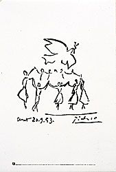 Picasso La sardane de la paix