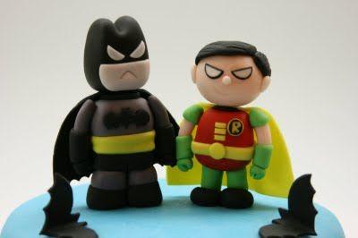 Beautiful Kitchen: Batman and Robin Cake