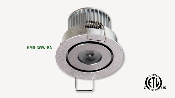GM Lighting | 12VDC LEDTask Mini-Recessed Downlight