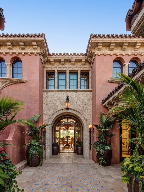 17 best images about spanish exterior homes on pinterest for Spanish exterior design